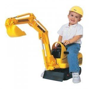gravemaskin for barn
