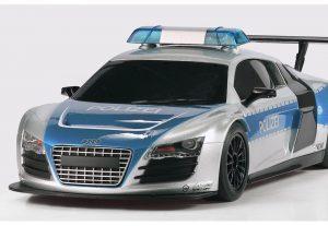 Scalextric Audi R8 politibil 1:32